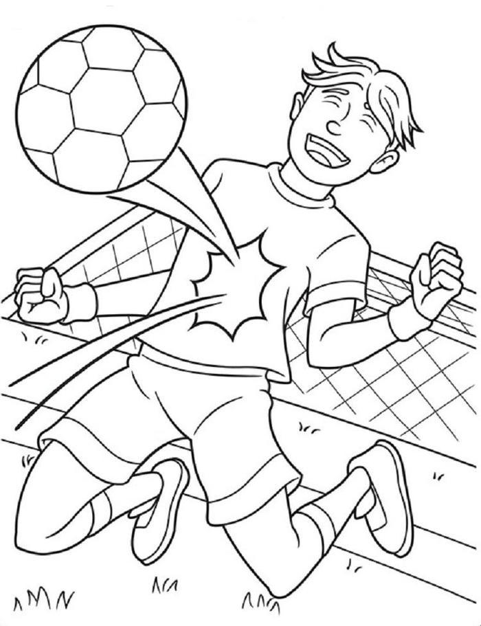 Soccer Player Crayola Coloring Pages