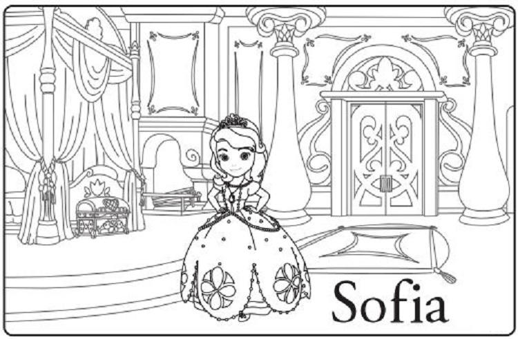 Sofia Coloring Pages Free Printable