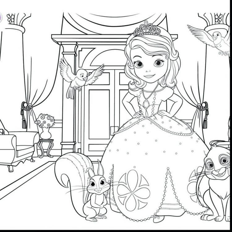 Sofia Coloring Pages Games