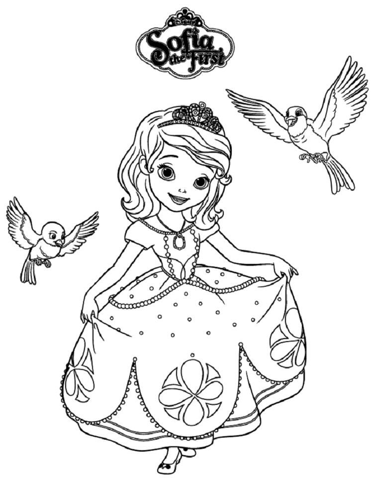 Sofia Coloring Pages To Print