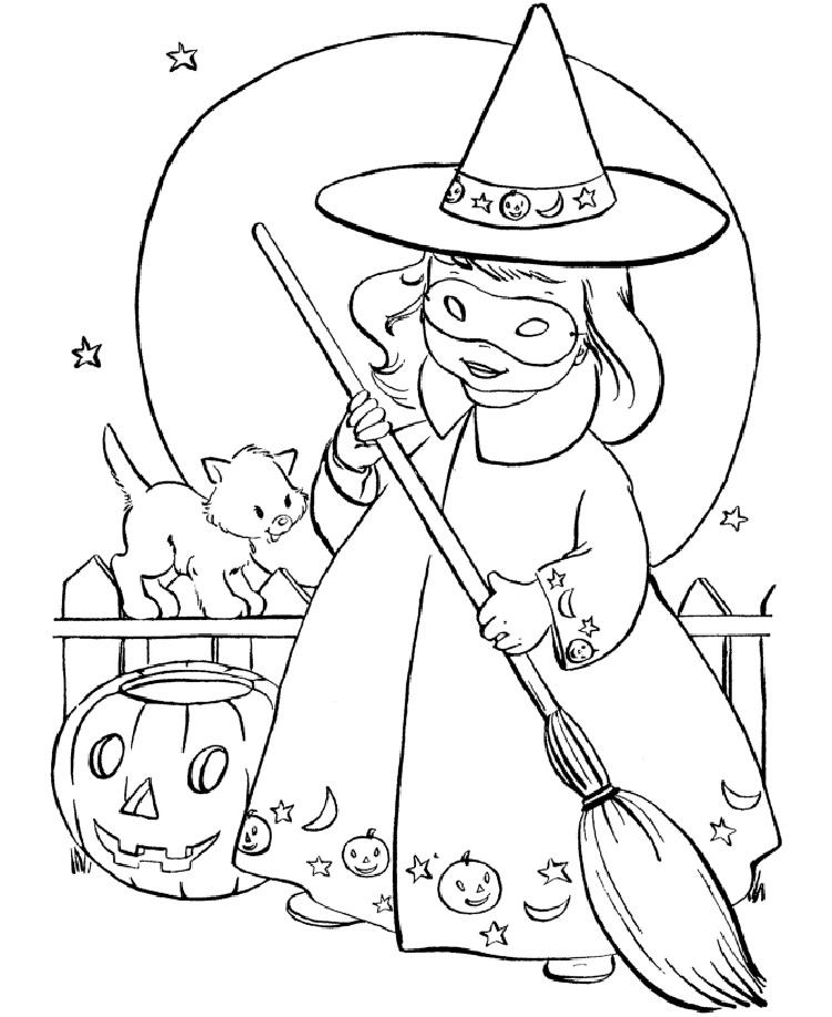 Sofia Halloween Coloring Pages