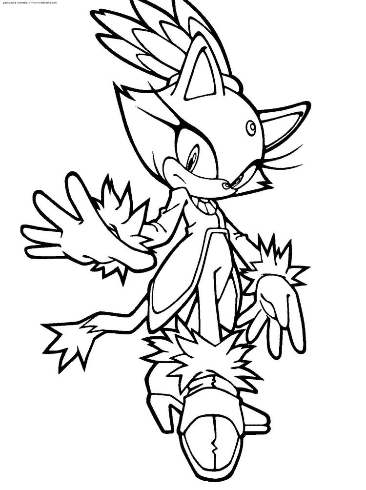Sonic Coloring Pages 5