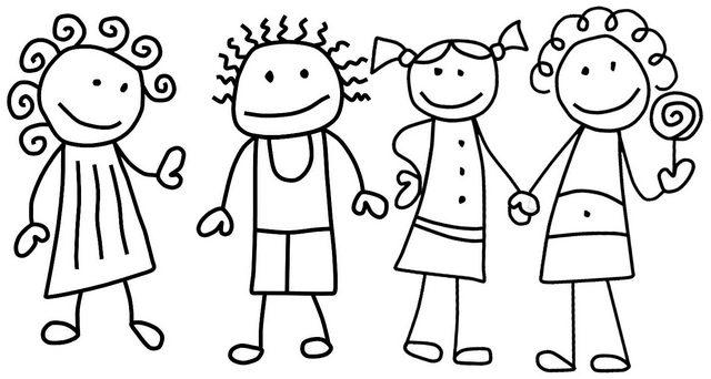 Special Friends Coloring Page