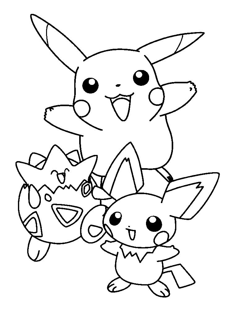 Spectacular Pokemon Coloring Pages
