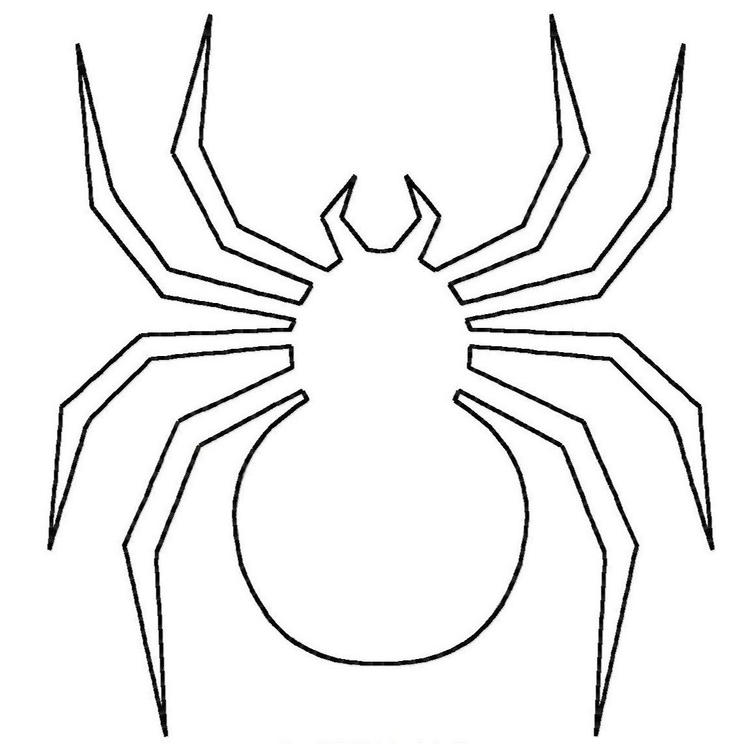 Spider Coloring Pages For Toddler