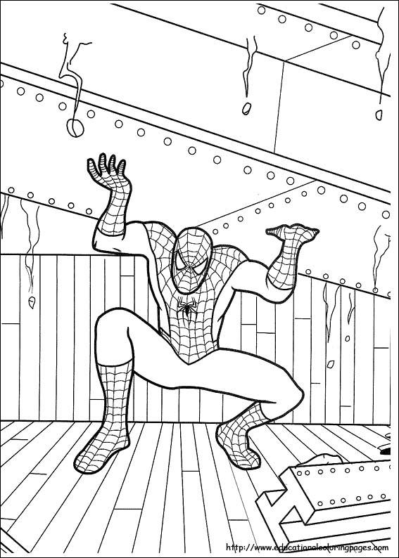 Spiderman Coloring Pages 01