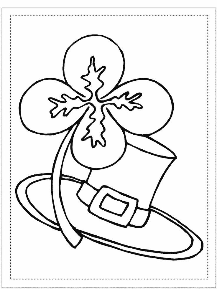 St Patricks Day Coloring Pages For Toddler
