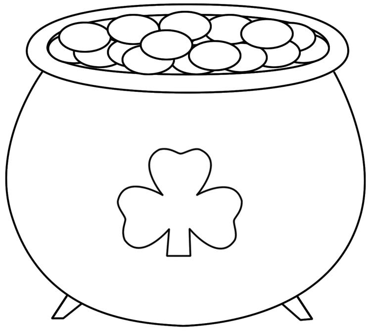 St Patricks Day Coloring Pages Free To Print