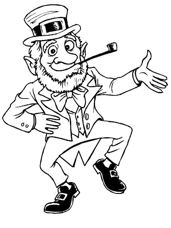 St Patricks Day Coloring Pages Holiday