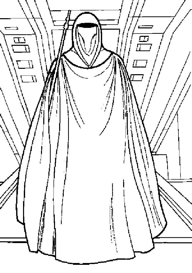 Star Wars Coloring Pages Emperor