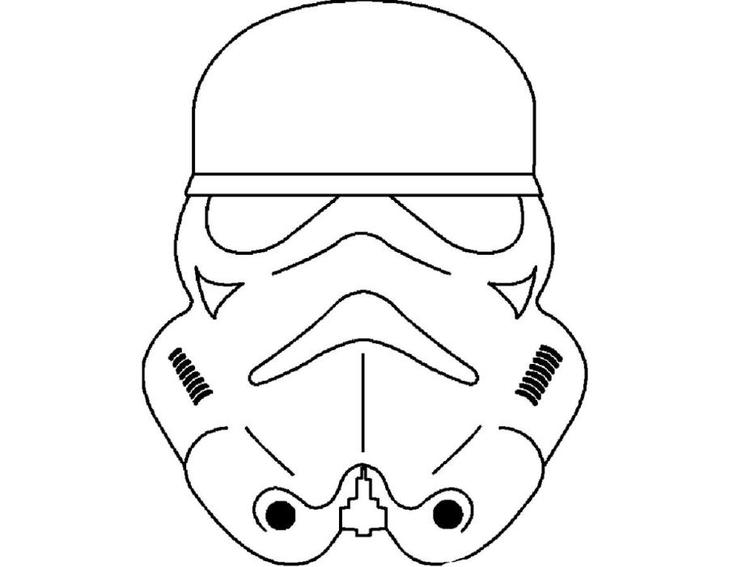 Star Wars Coloring Pages Masks