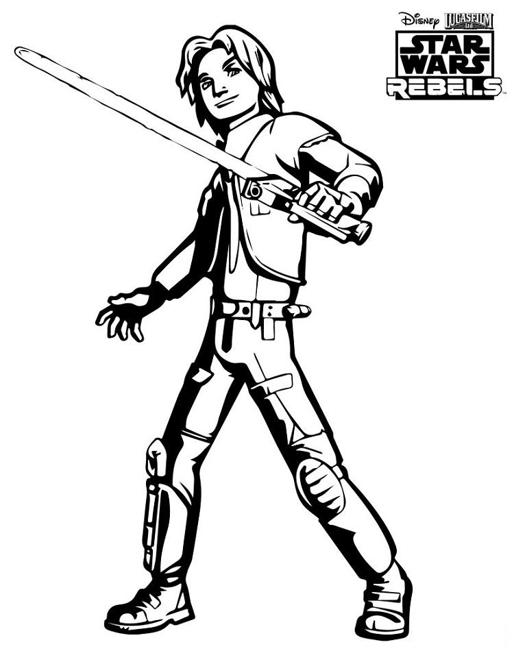 Star Wars Coloring Pages Rebels