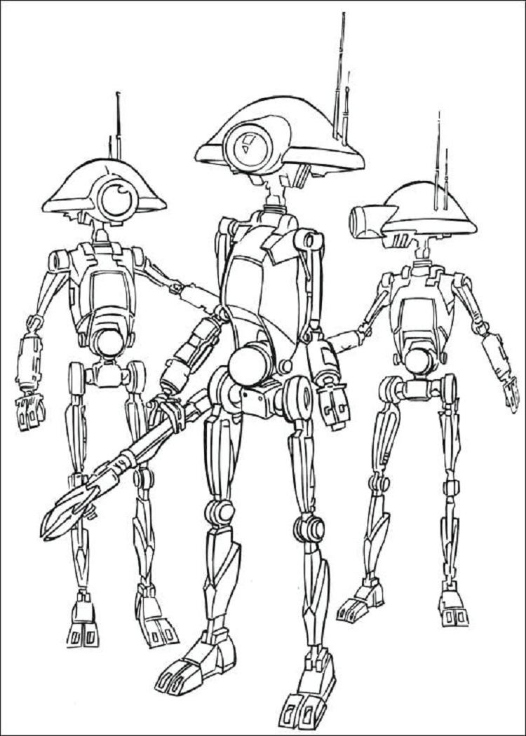 Star Wars Coloring Pages To Color Online