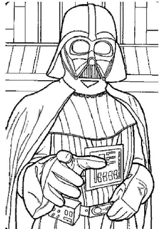 Star Wars Darth Vader Coloring Pages 2