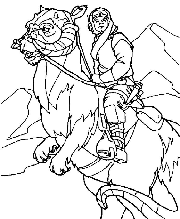 Star Wars Empire Strikes Back Coloring Pages