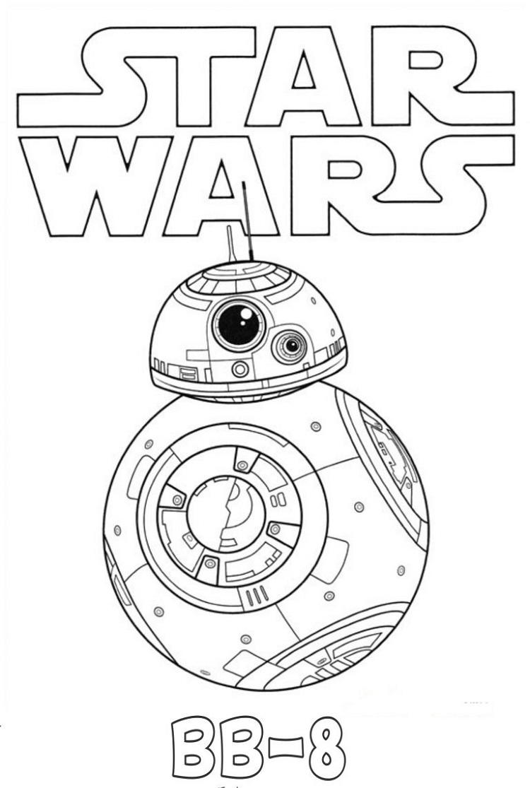 Star Wars Giant Coloring Pages