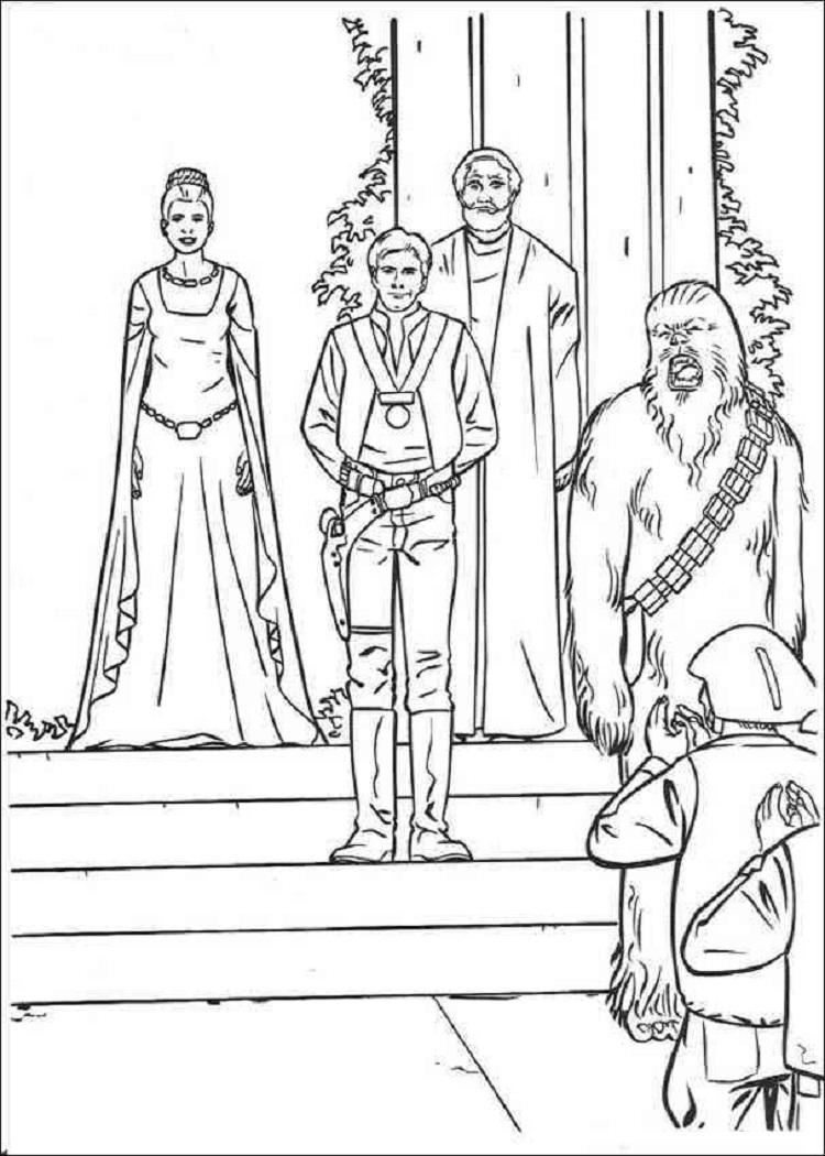 Star Wars New Hope Coloring Pages