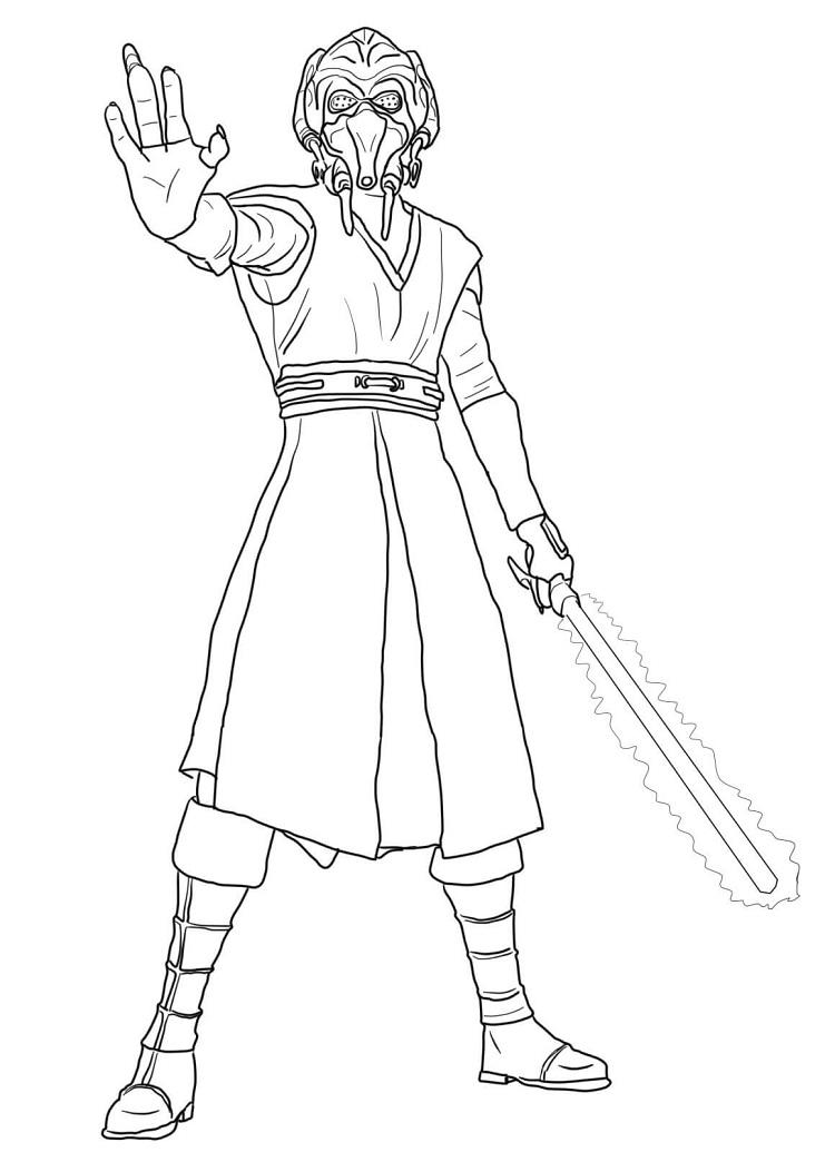 Star Wars Return Of The Jedi Coloring Pages