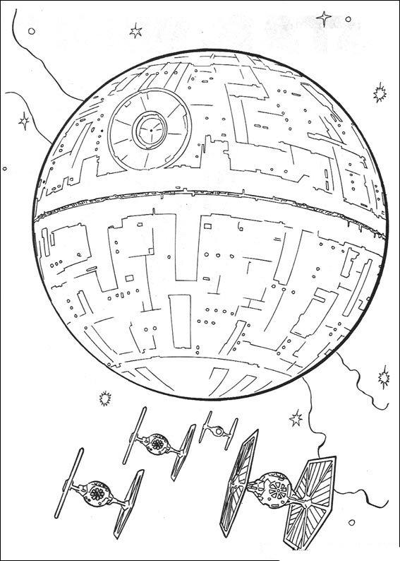 Star Wars Ship Coloring Pages