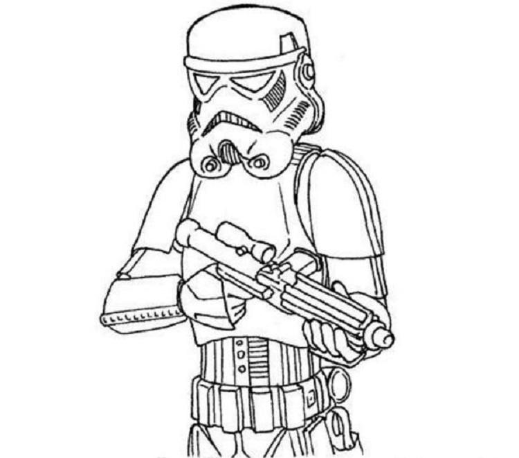 Star Wars Stormtrooper Coloring Pages Printable