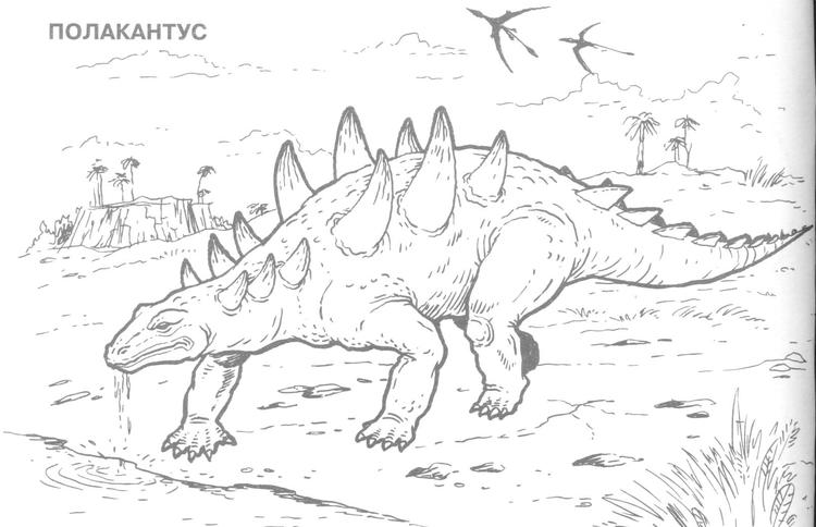 Stegosaurus Dinosaurs Coloring Pages With Names