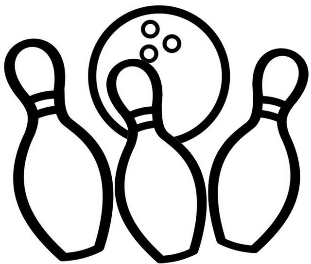 Strike Zone Bowling Center Coloring Page