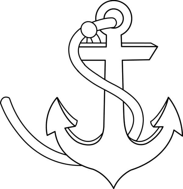 Strong Anchor Coloring Pages