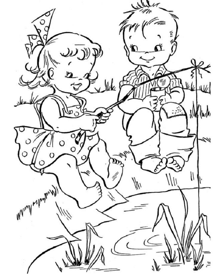 Summer Coloring Pages For 5th Grade