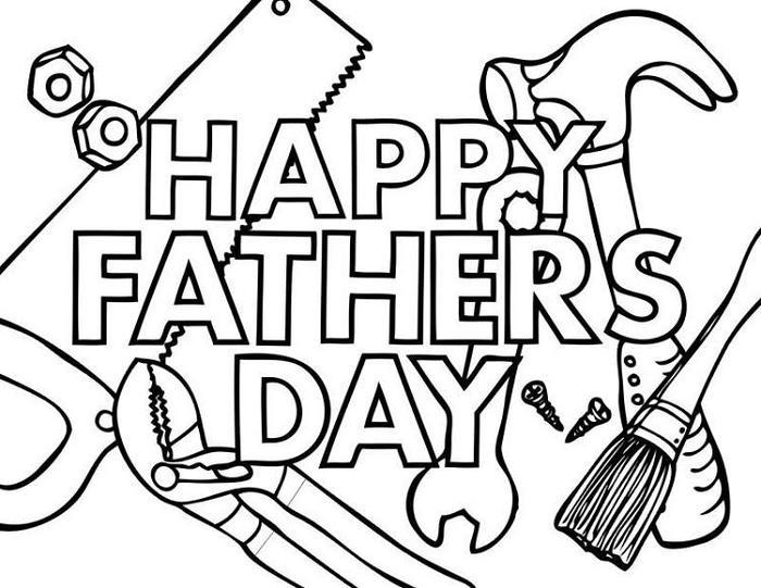 Sunday School Coloring Pages For Fathers Day