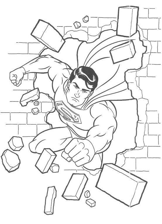 Superman Coloring Pages 03