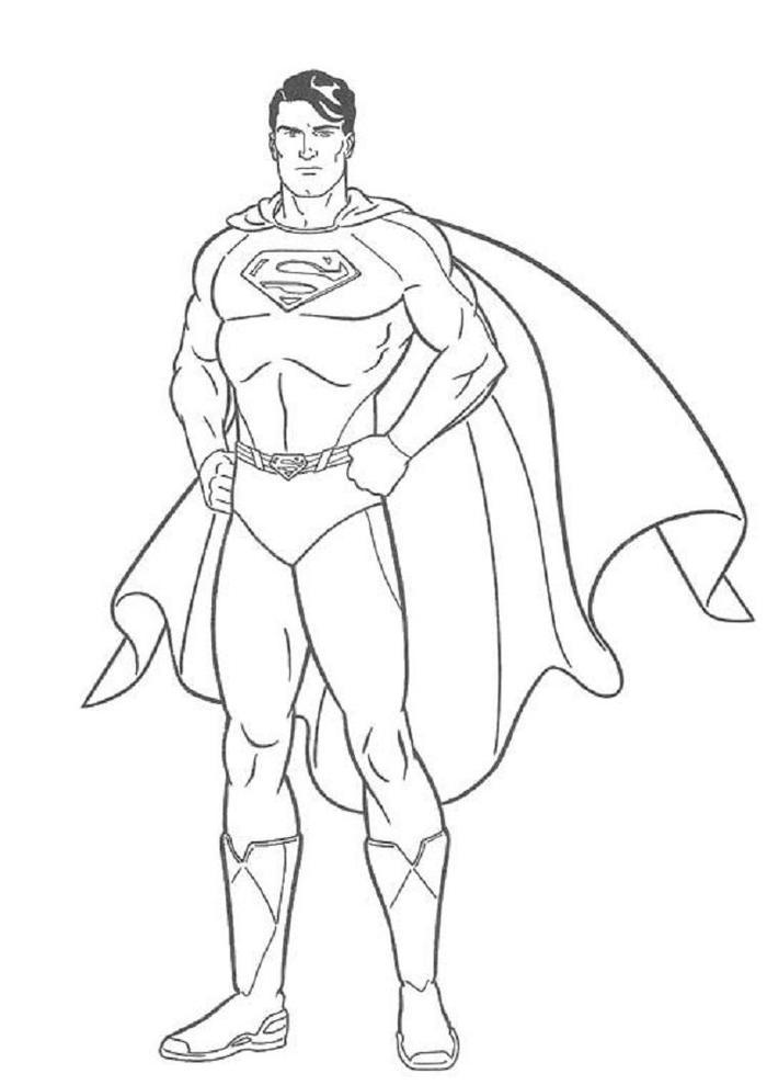 Superman Coloring Pages Christoper Reeve