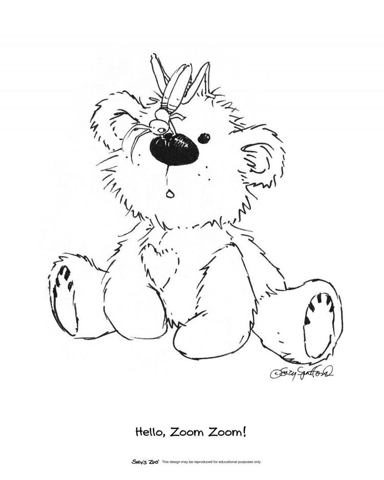 Suzys Zoo Coloring Pages Boof