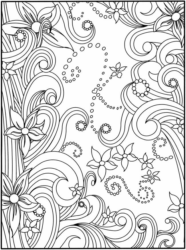 Sweet Coloring Pages Of Hearts For Teenagers Difficult