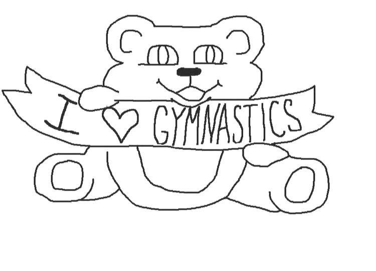 Sweet Gymnastics Coloring Pages