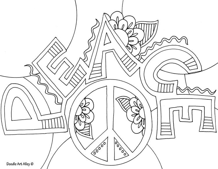 Sweet Teen Quote Coloring Pages 2