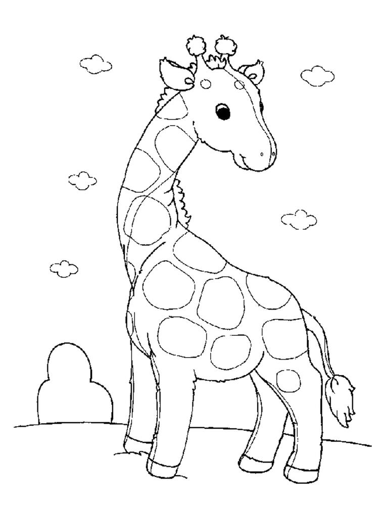 Sweet Toddler Animal Coloring Pages