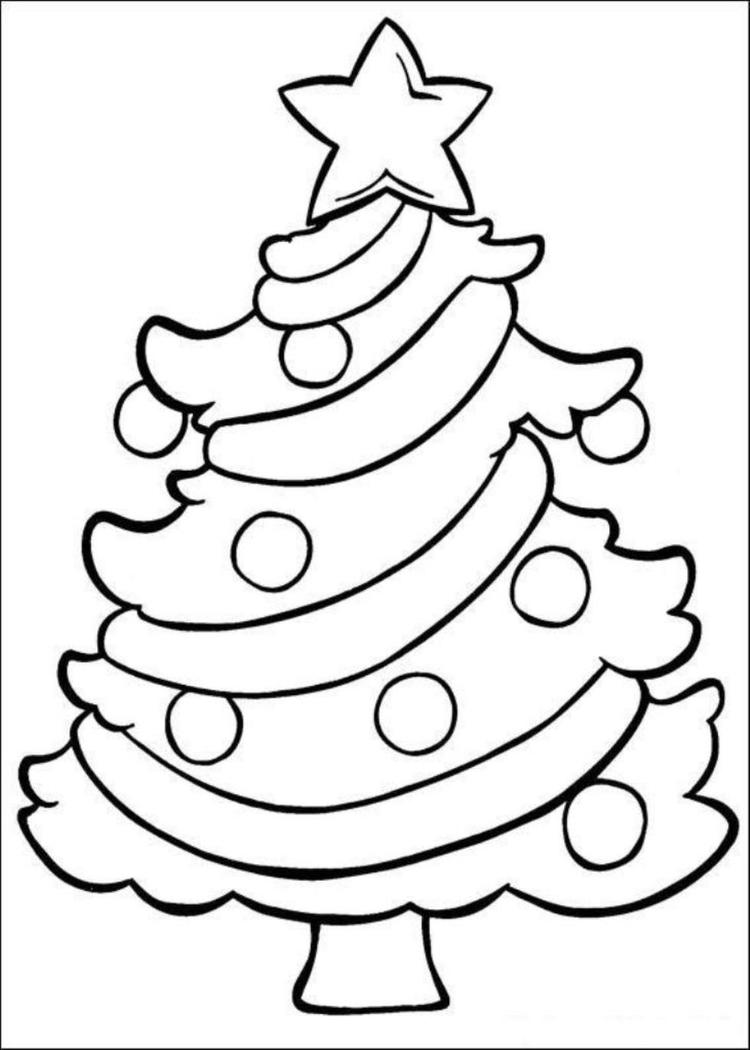 Sweet Toddler Christmas Coloring Pages