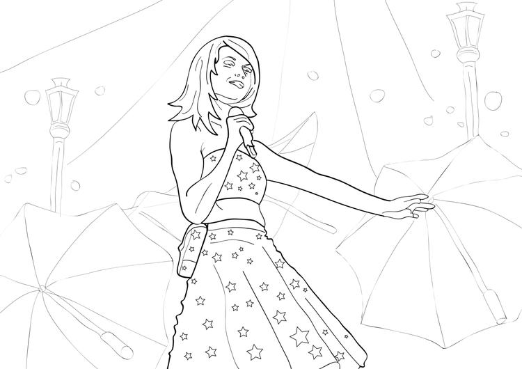 Taylor Swift Coloring Pages Free To Print