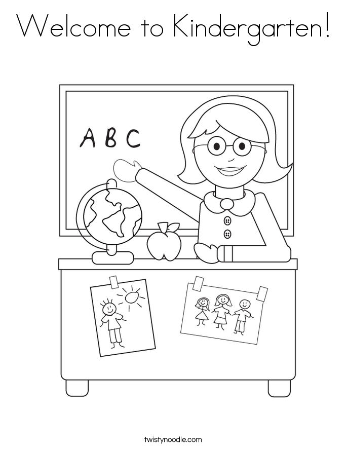 Teacher Back To School Coloring Pages For Preschool