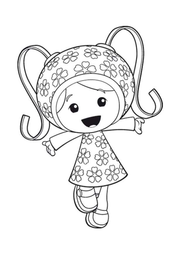 Team Umizoomi Coloring Pages Milli