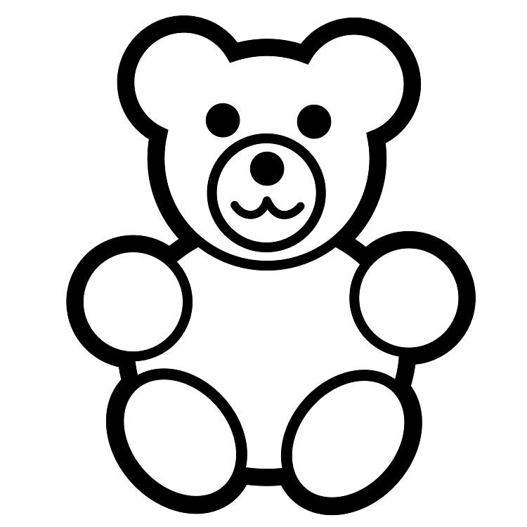 Teddy Bear Coloring Pages