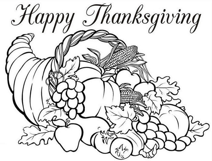 Thanksgiving Coloring Pages Free Printables