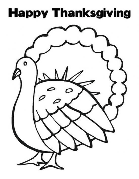 Thanksgiving Coloring Pages To Print Free