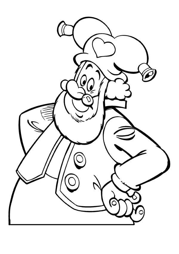 The Famous Plop The Gnome Coloring Pages