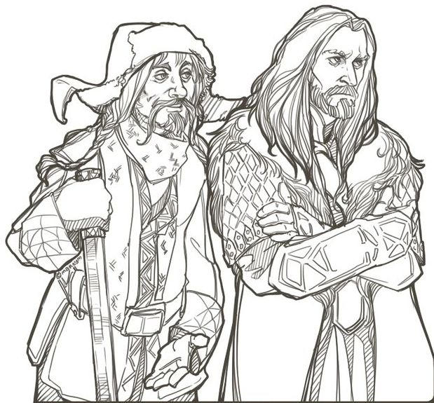 The Hobbit Coloring Page Printable