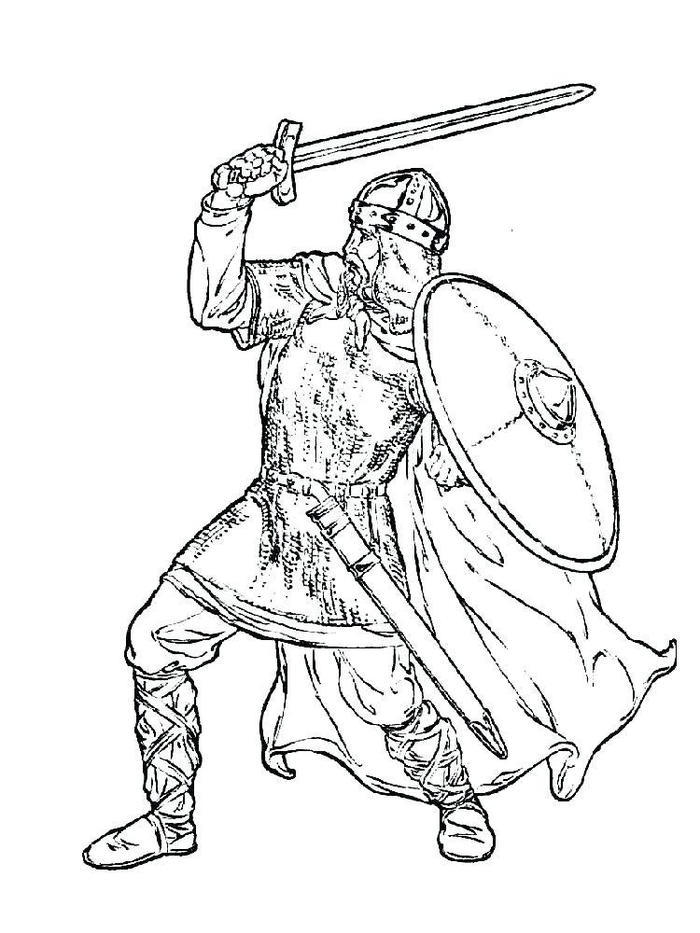 The Knights Coloring Pages