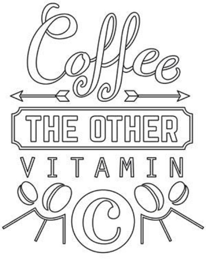 The Other Vitamin C Coloring Pages