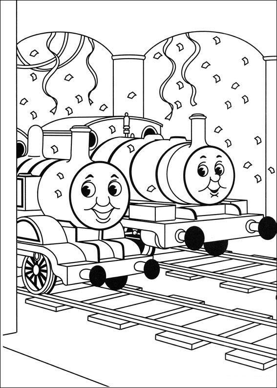 Thomas And Friends Coloring Pages In Station