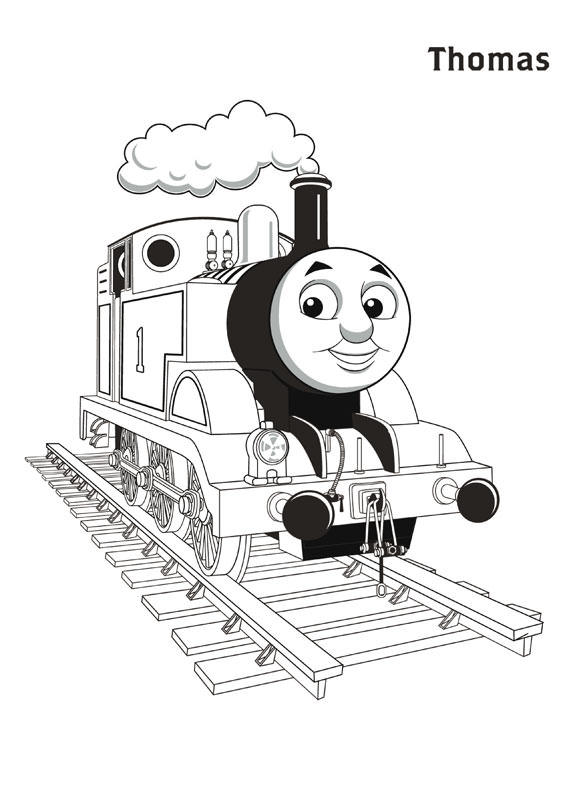 Thomas And Friends Coloring Pages Thomas The Train