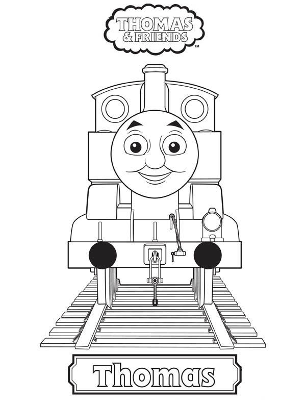 Thomas And Friends Coloring Pages Thomas